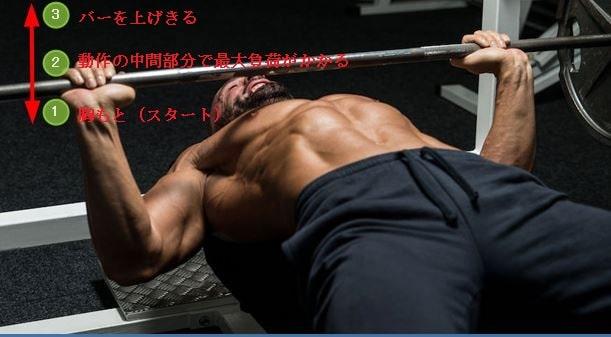 POF法胸のトレーニング