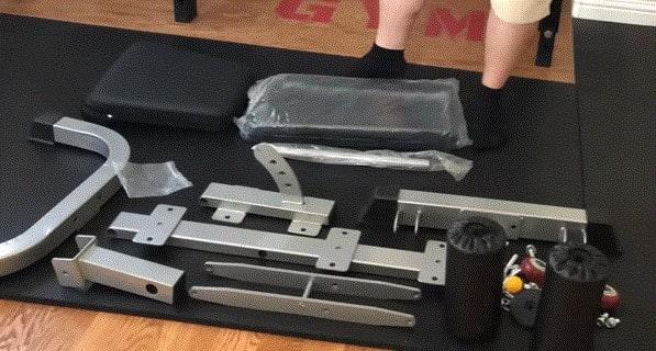 インクラインベンチ組み立て式