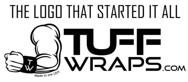 TUFF WRAPSのリストラップ