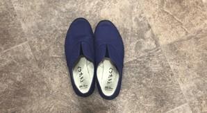 ローカット鉄芯なしの足袋靴