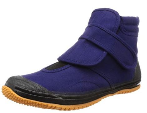 ハイカットの足袋靴
