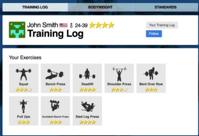 トレーニングログ:履歴機能を活用