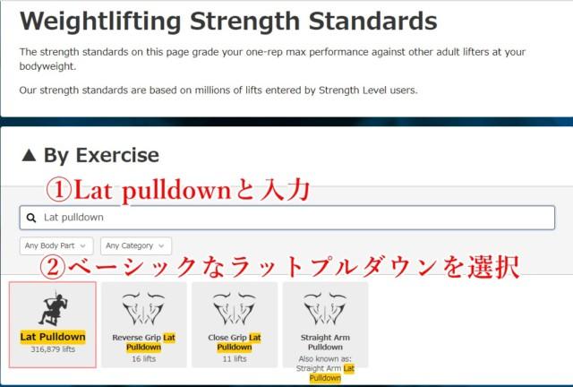 海外筋トレサイトの「strengthlevel.com」